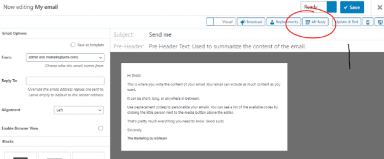 How To Send A Plain Text Version Of An Email