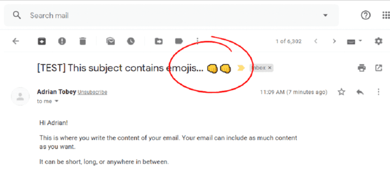 How to Use Emojis in Email Subject Lines