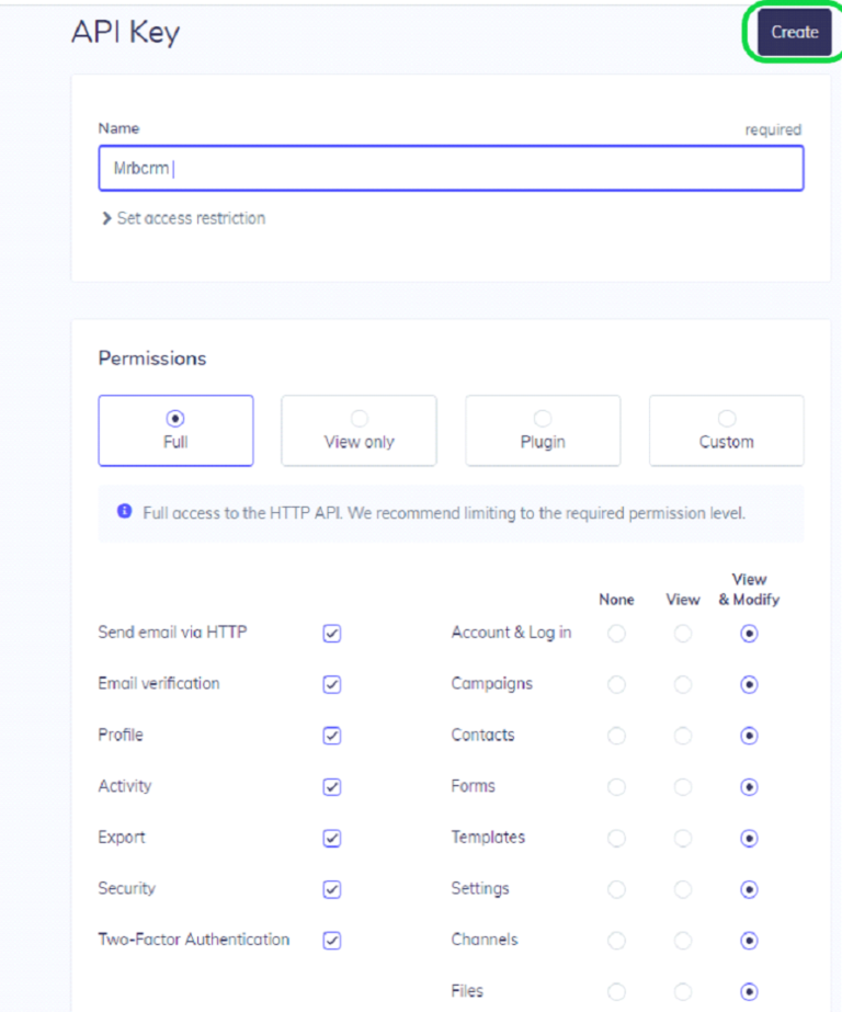 Connect To Elastic Email Using Email API