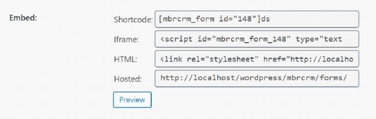 Create a Web Form