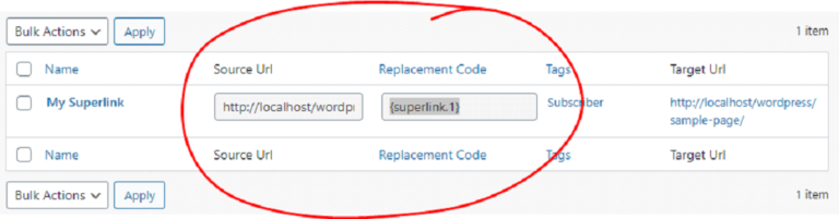 How To Use Superlinks