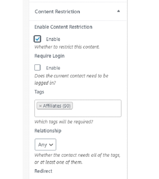 Introduction To Content Restriction