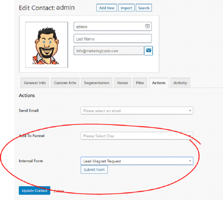 Using Web Forms As Internal Forms
